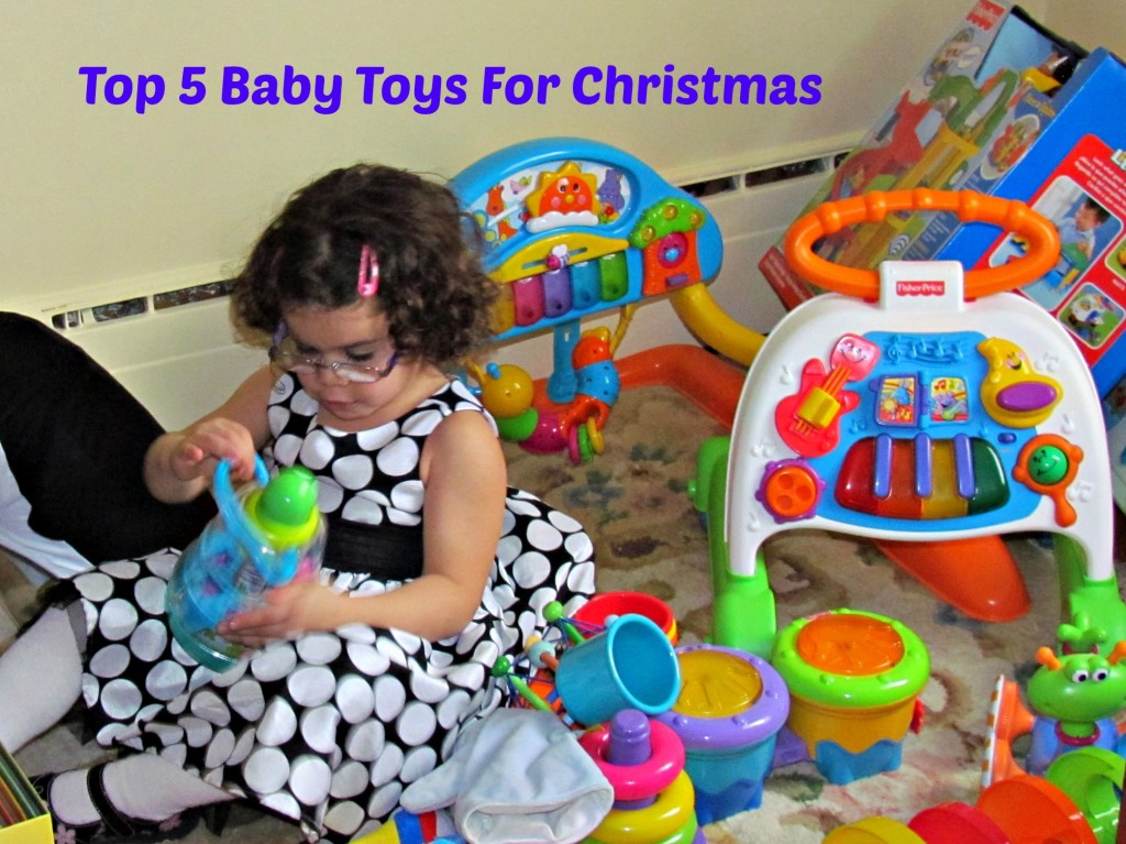 Top 5 Baby Toys for Christmas