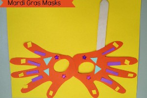Mardi Gras Craft