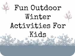 Winter Activities for Kids F