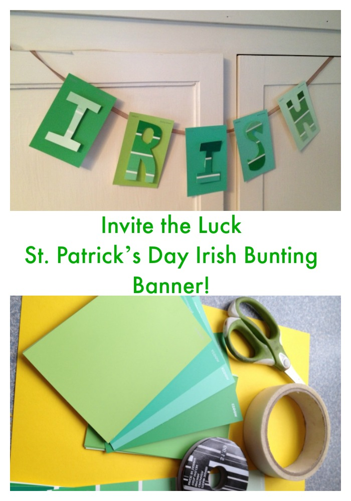 saint patricks day banner CRAFT