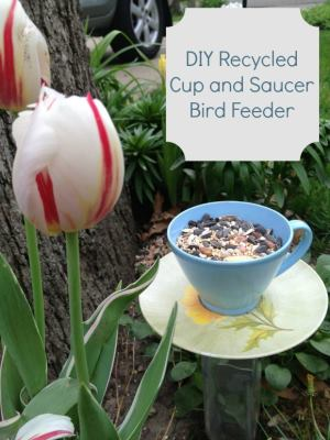 Spring craft for kids diy recycled cup and saucer bird - Cups and kids ...