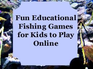 Kids Online Interactive Fishing Games
