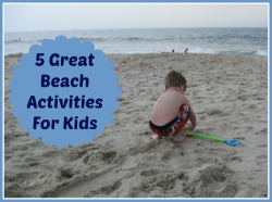 Beach Activities for kids