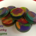 Chunky Crayons Craft for Kids