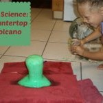 Science Activity For Kids Volcano Featured
