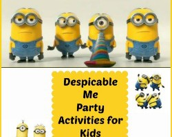 Despicable Me Party Activities for Kids