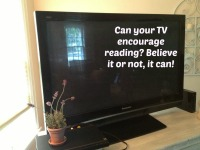 Encourage Reading with TV