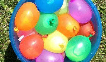 Wacky Water Balloon Summer Activities for Kids