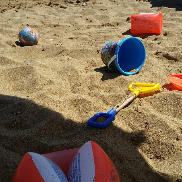 beach games summer activtity for kids