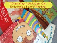 Encourage Reading at the Library