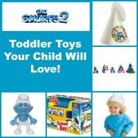 Smurfs 2 toddler toys