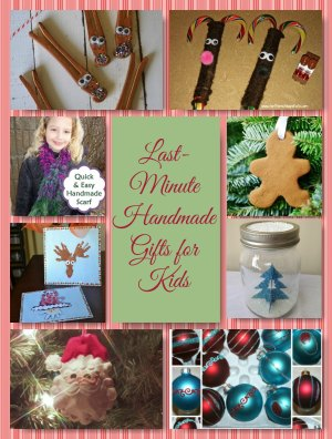 Holiday crafts for kids make great last minute gifts for Holiday crafts for teens
