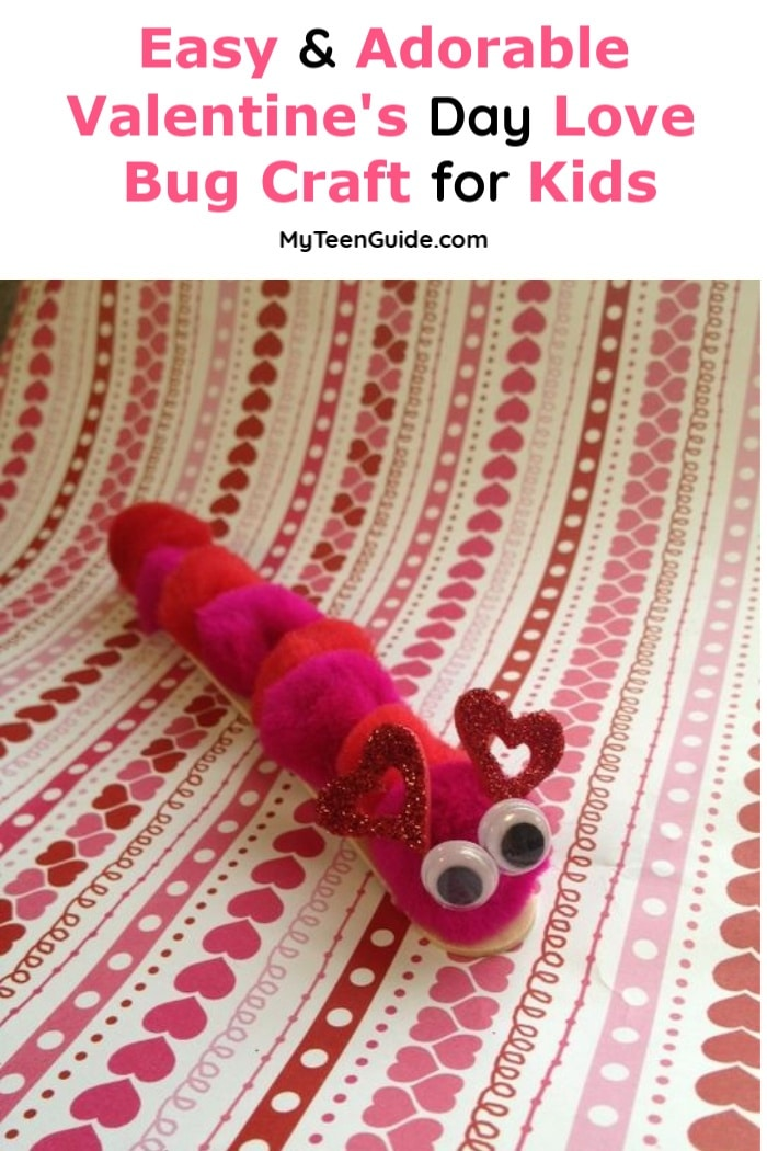 Are you ready for February 14th? This adorable Valentine's Day craft for kids will help you get there!