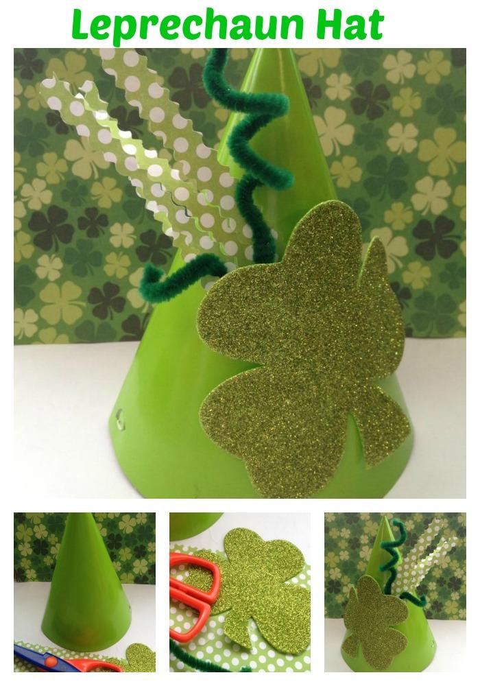 Leprechaun Hat Saint Patrick's Day craft for kids