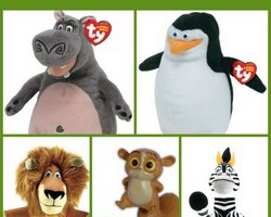 Madagascar toys for preschoolers