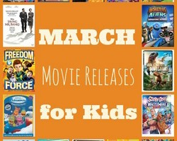 March Movies for Kids