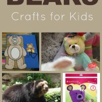 Bears crafts for kids