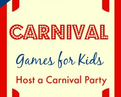 carnival games for kids