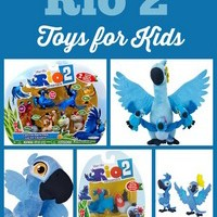 Rio 2 Toys for Kids