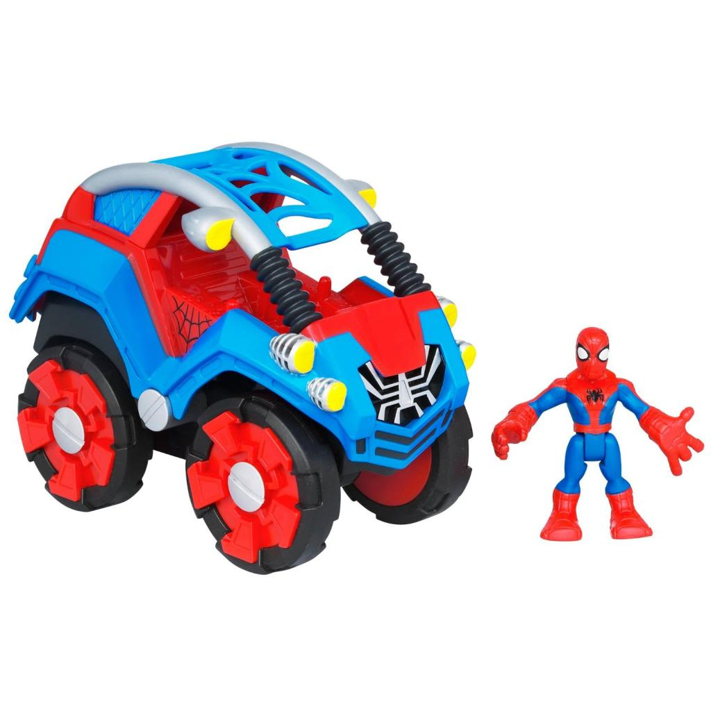 Spider-Man Flip Out Stunt Buggy Spider-Man Toys for Toddlers