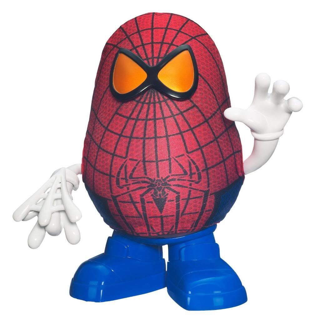 Spider-Man Toys For Toddlers: Mr. Potato Head the Amazing Spider-Man Spud Toy: