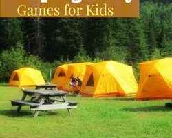 5 Fun Camping Party Games for Kids