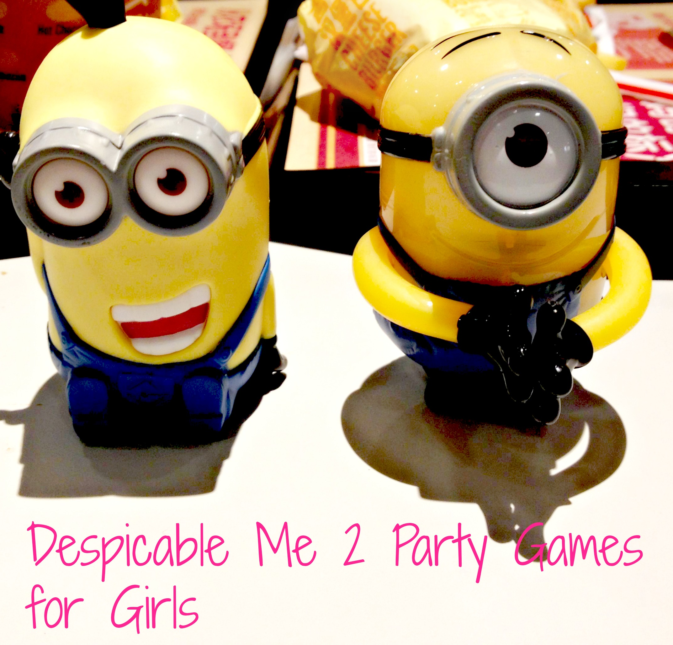 Despicable Me 2 Party Games For Girls