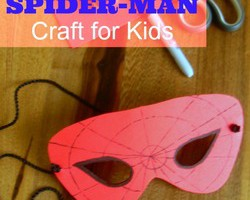 Spider-Man Party Crafts for Kids