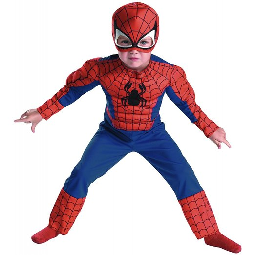 Spider Man costumes make great Spider-Man Toys for Toddlers
