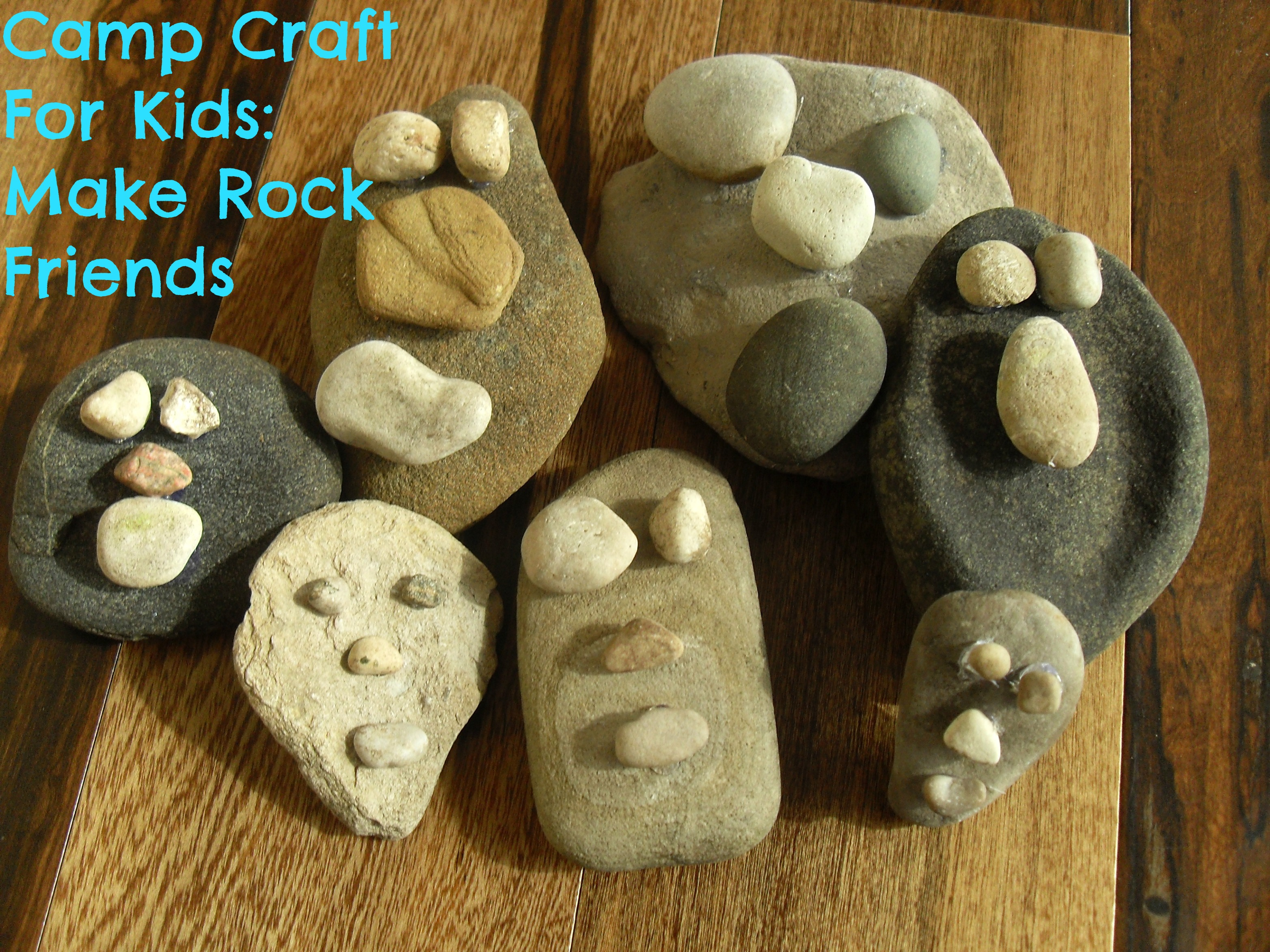 Camp craft for kids make rock friends my kids guide for Crafts made from rocks