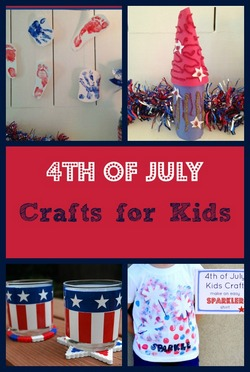fun patriotic 4th of july crafts for kids