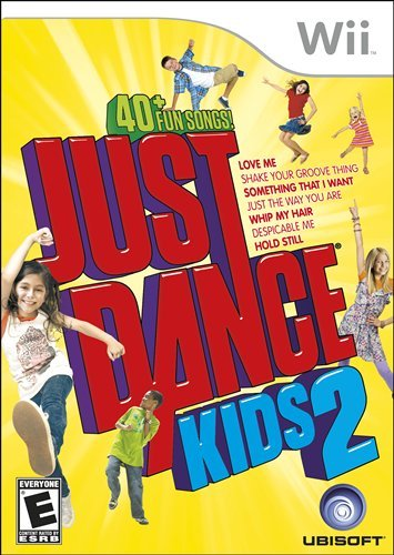Despicable Me 2 Wii Games: Just Dance Kids 2
