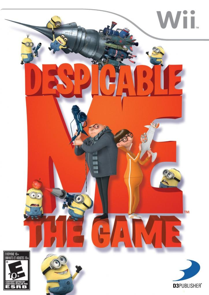 Despicable Me 2 Wii Games for Kids & Family Fun