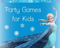 Frozen Party Games for Kids