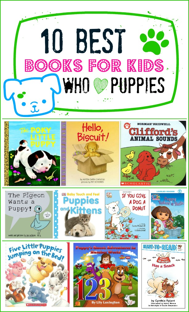 10 Best Books for Kids Who Love Puppies