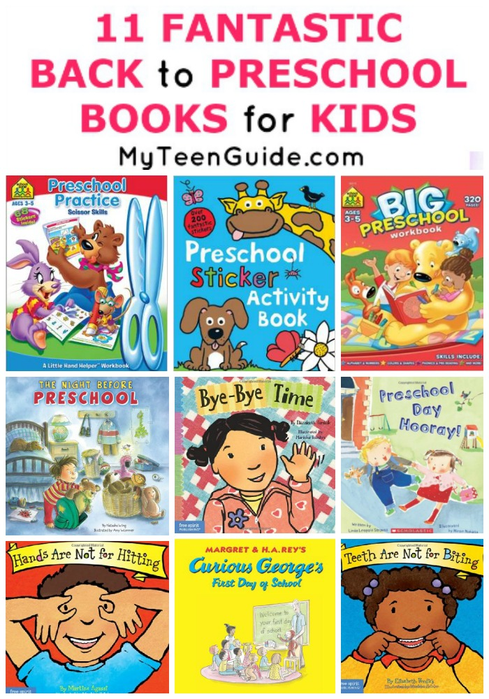 Are your little ones heading back to preschool? Take a look at these 11 Fantastic Back to Preschool Books for Kids to get them ready in no time