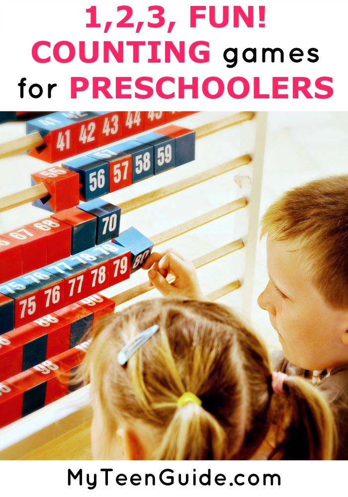 Get your little one ready for back to school with these fun preschool counting games and activities!