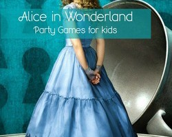 Alice in Wonderland Party Games for kids