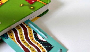 Encourage Kids to Read with a Beautiful Bookmark Craft!