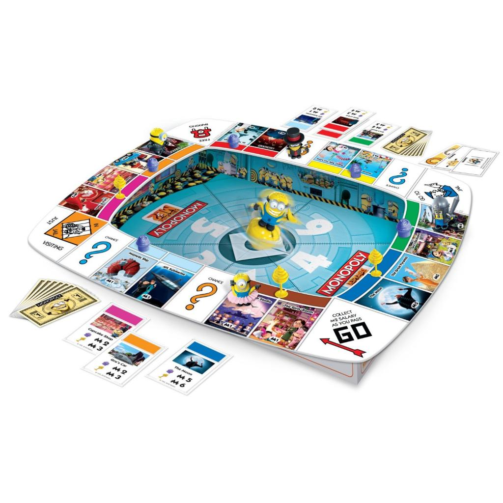 Despicable Me 2 board games for kids: Monopoly