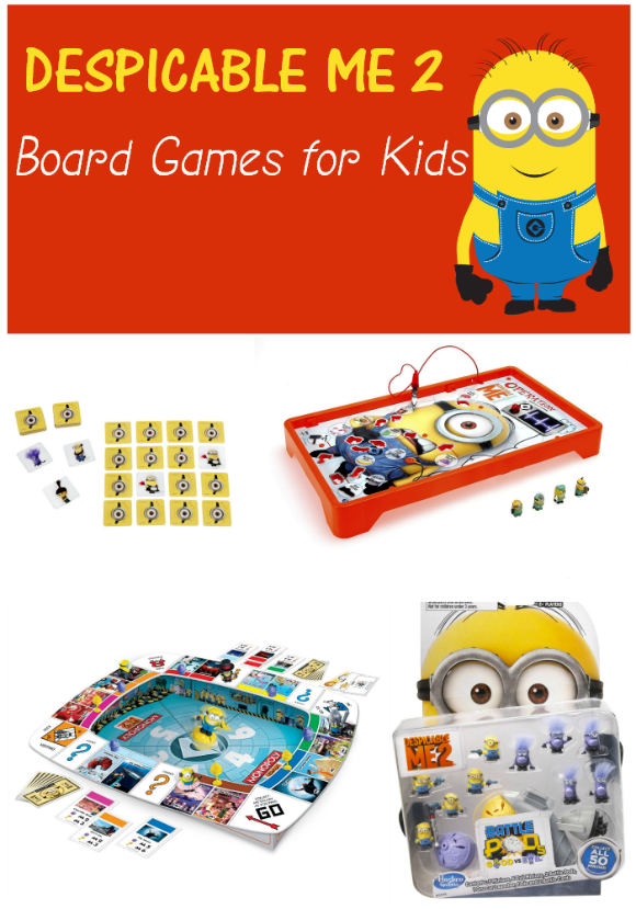 Despicable Me 2 Board Games for Kids