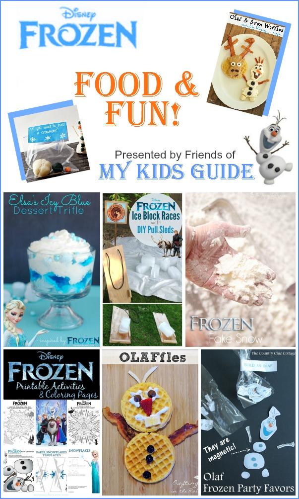 Disney Frozen Party Food & Fun Ideas| MyKidsGuide