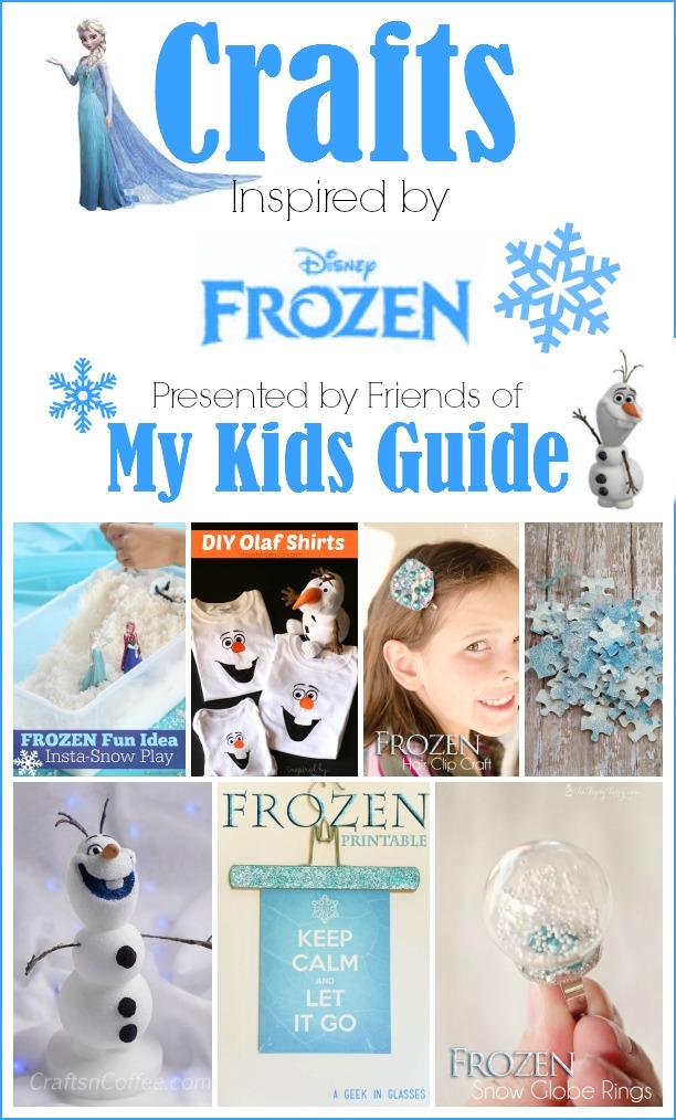 Frozen Crafts for kids- MyKidsGuide