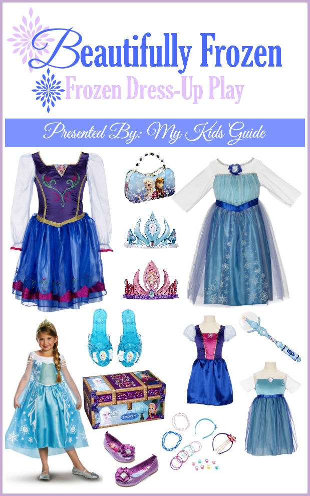 Disney Frozen Costumes for Kids| Dress-Up Play with Frozen| MyKidsGuide.com