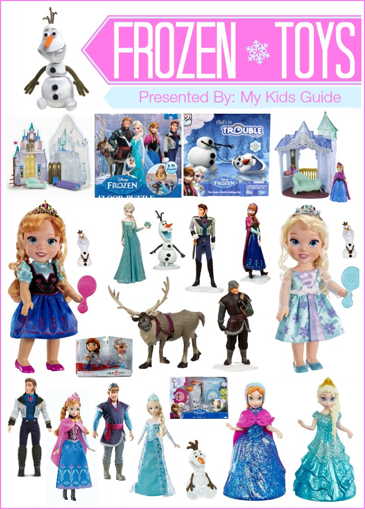 Buying Guide For Girls Toys : Beautiful frozen toys for kids my guide