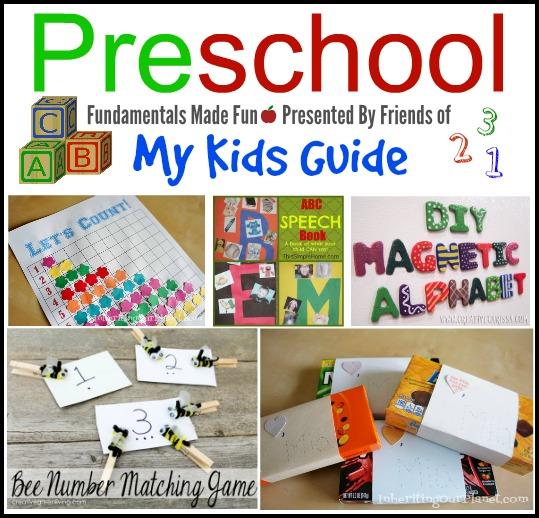 5 Preschool Fundamental Activities Crafts for Kids | MyKidsGuide.com