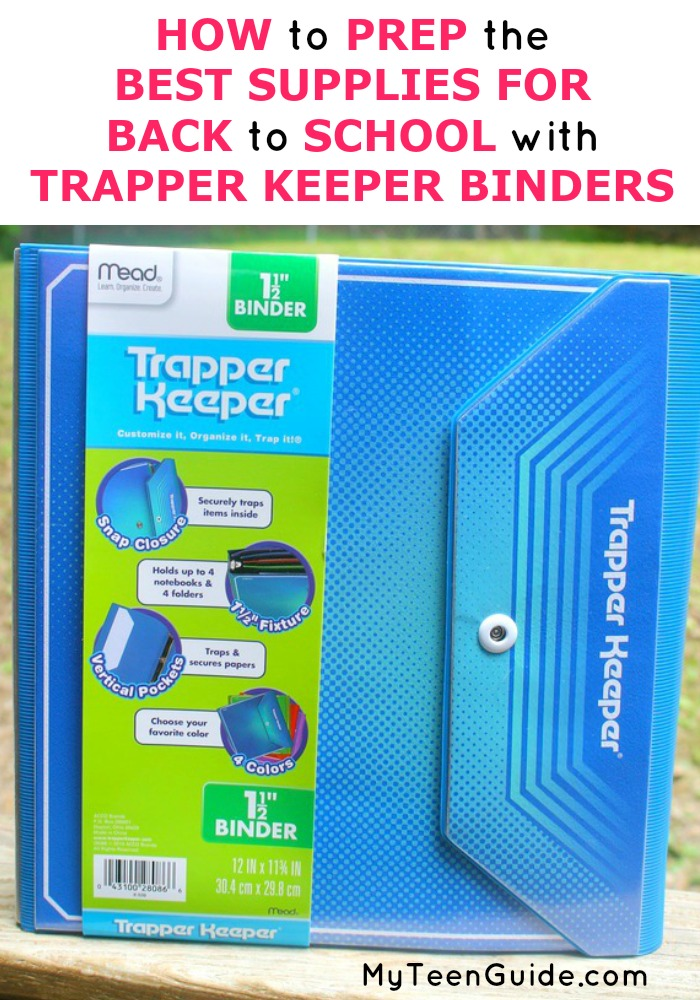 Prep the best supplies for back to school organnization! We reviewed the best binders, so your school supplies last!
