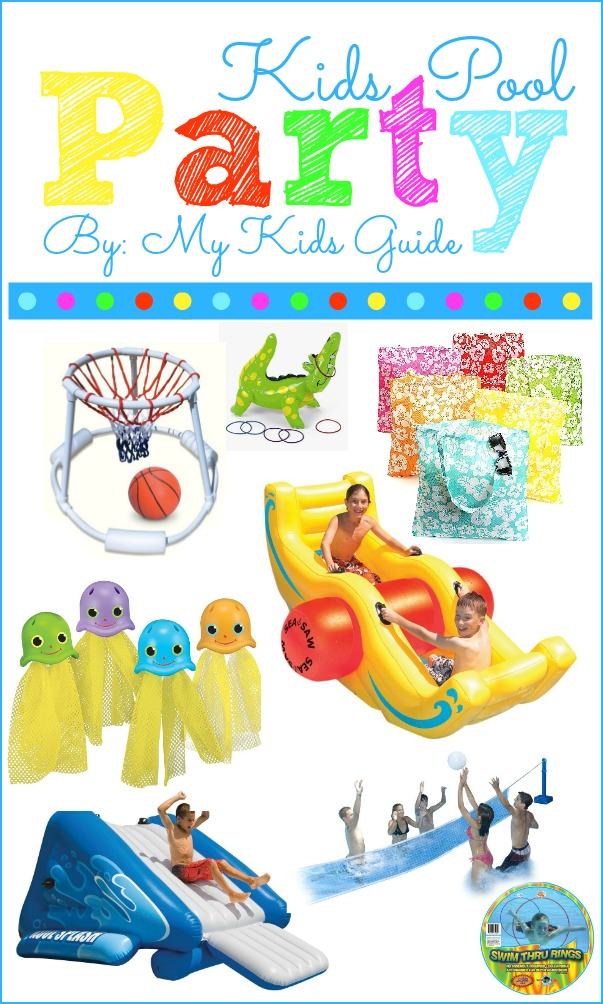 Pool party toys for kids| My Kids Guide