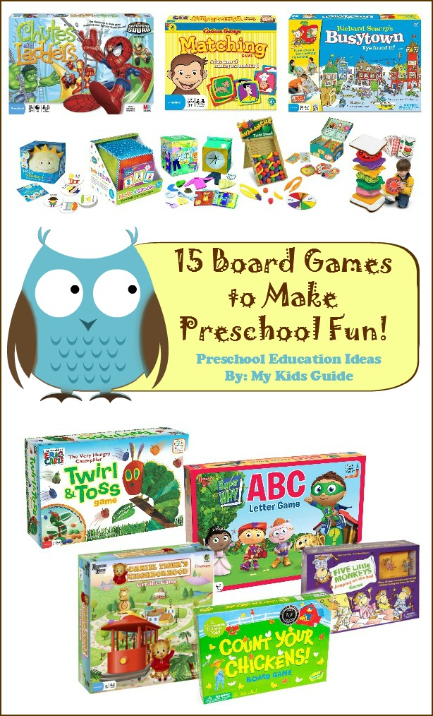 15 Fun And Easy Sewing Projects For Kids: 15 Fun Board Games For Preschoolers: MyKidsGuide