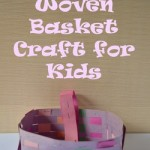 Woven Basket Craft for Kids